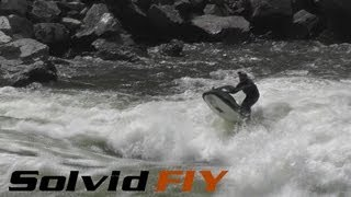 Extreme Whitewater Jet Skiing - Salmon River / Hell