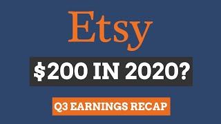 In this etsy stock analysis, i'll give you the key highlights from etsy's q3 earnings and you'll find out if i still believe is worth $200 per sha...