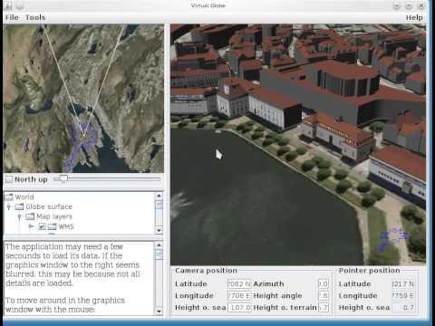 FOSS4G 2010: Norkart Virtual Globe