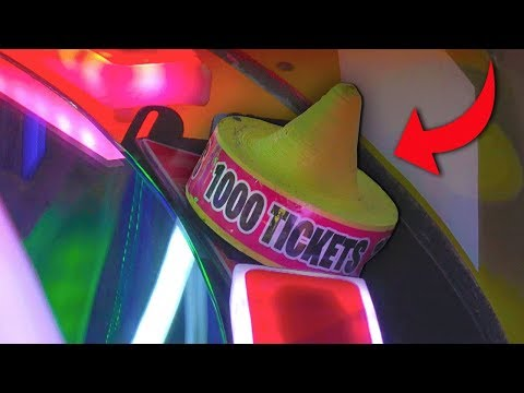 Easy way to win 1000 tickets at the arcade!