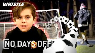 How Soccer PRODIGIES Train At Home | ft. Chase Carrera