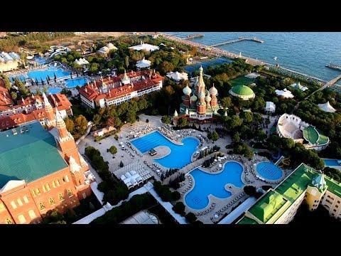 4K UHD Video- WOW Kremlin Palace Antalya From The Air