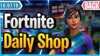 ⚽ FUSSBALL SKINS IM SHOP 🛒 - Fortnite Daily Shop (10 July 2019)
