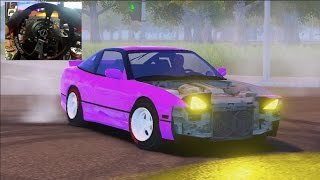 Jidousha Shakai PC Beta! GoPro CUSTOMIZATION ON POINT!!! - 240sx Build!
