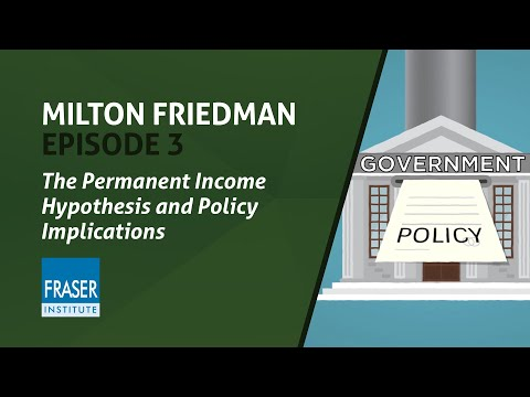 Essential Milton Friedman: The Permanent Income Hypothesis And Policy Implications