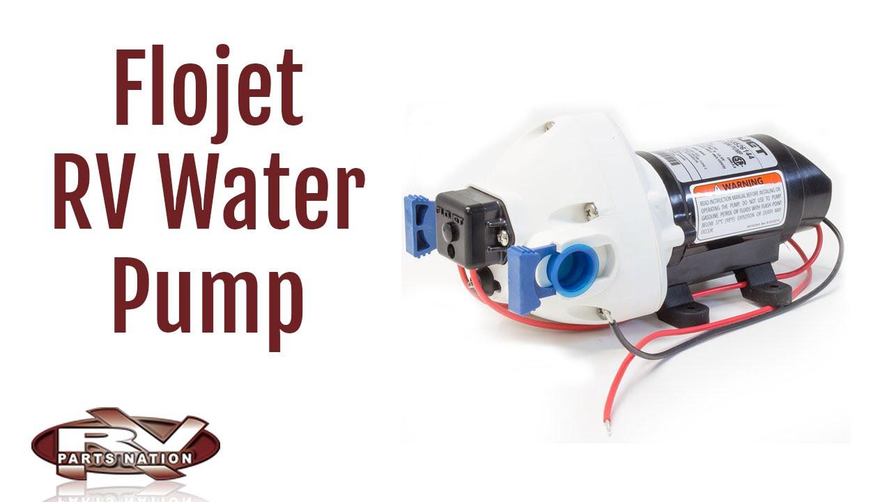 rv water pump wiring rv water pump flojet youtube  rv water pump flojet youtube