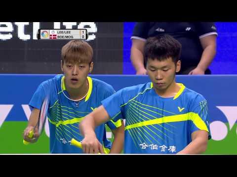 Yonex French Open 2017 | Badminton F M5-MD | Lee/Lee vs Boe/Mog