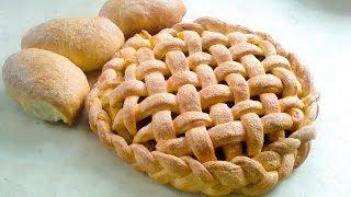 Пирог с капустой и грибами. Простой рецепт пирога в духовке.