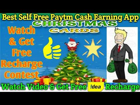 Christmas Cards App Best Self Free Paytm Cash Earning App Watch