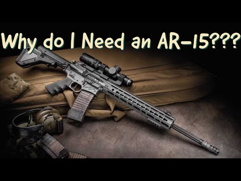 Why do I need at AR-15???