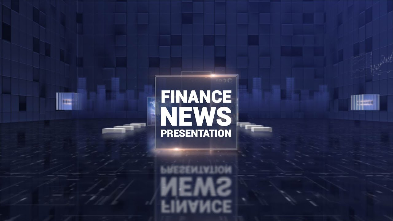 corporate finance news presentation free after effects project, Presentation templates