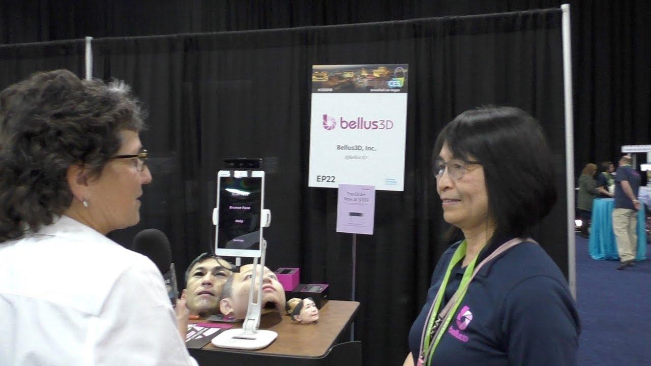 CES 2018: Bellus3D Face Scanning by nosillacast