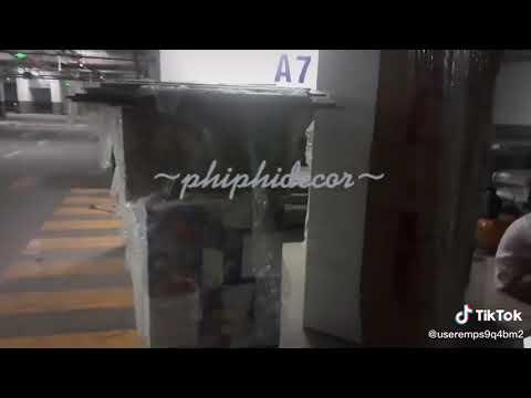 Tập kết hàng dưới hầm chung cư - bao gói hàng cẩn thận #phiphidecor #thicong #thietkenoithat