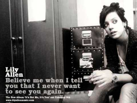 Lily Allen - Absolutely Nothing