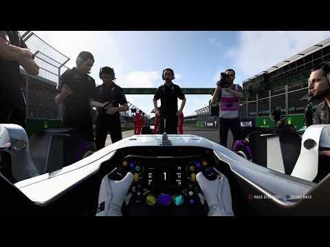 Formula 1 2017 PS4 game play ( Australia )