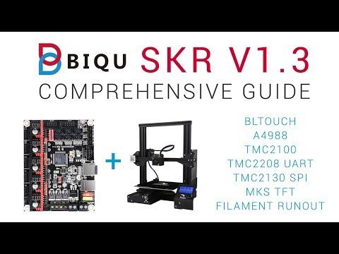 SKR V1 3 Comprehensive guide - 32bit 3D printing for $20 - YouTube