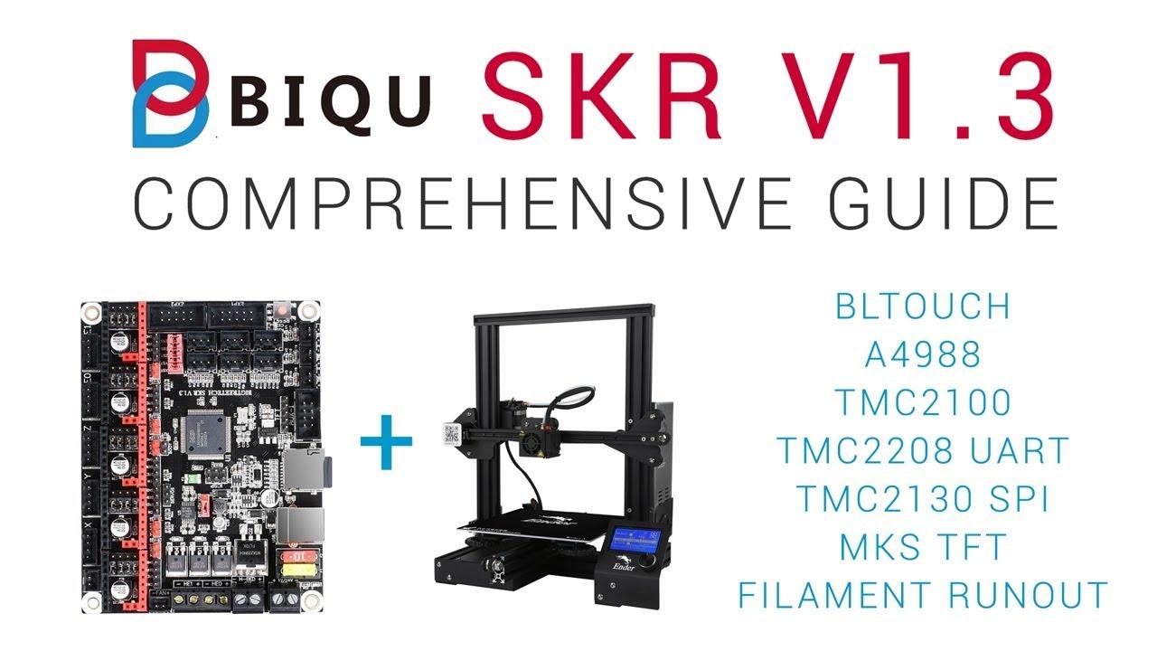 SKR V1 3 Comprehensive guide - 32bit 3D printing for $20