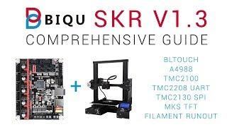 SKR v1 3 Mainboard Install - TMC2208 - Chris's Basement / 3D