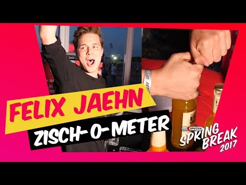 Felix Jaehn vs. ZISCH-O-METER beim SPUTNIK SPRING BREAK 2017