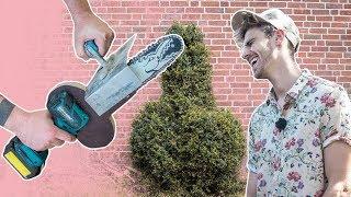 Kettensäge aus Akkuschrauber bauen | Lets Fetz