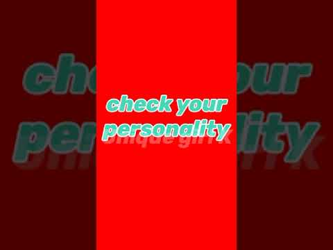 Download check your personality 😉❤️ #personality test what your birth month says about you #test