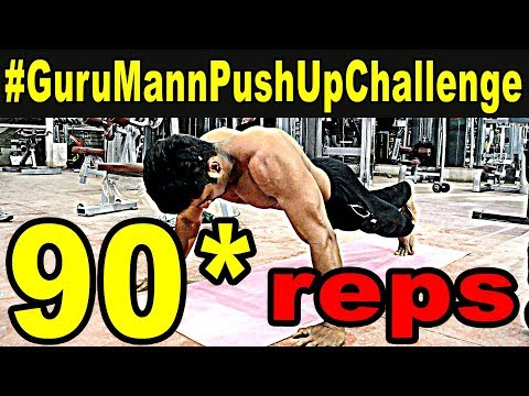 #GuruMannPushUpChallenge | accepted full 90 reps |RSWorld