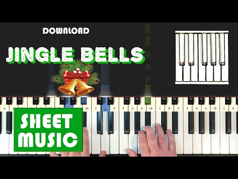 """Download Jingle Bells sheet music """"Music score"""" in pdf and mp3"""