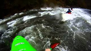 Kayaking the Ocoee River - Last Release Day 2013