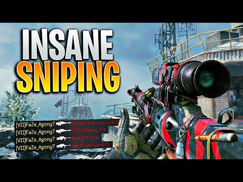 Absolutely DESTROYING kids on BO4 (INSANE SNIPING CLIPS)
