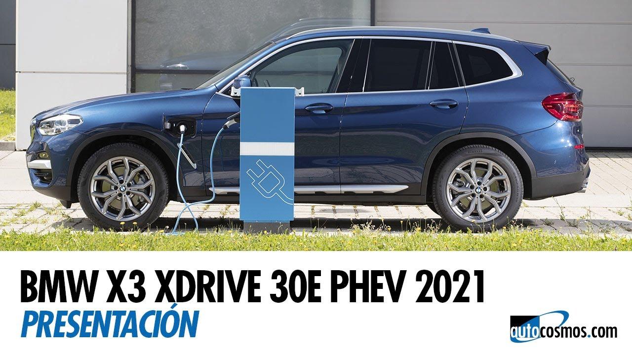 Conocimos al nuevo BMW X3 Híbrido Enchufable