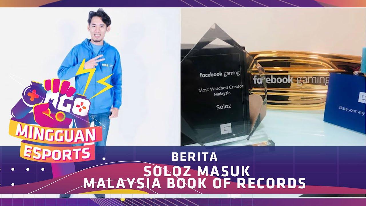 Soloz Masuk Malaysia Book Of Records Memgo Youtube