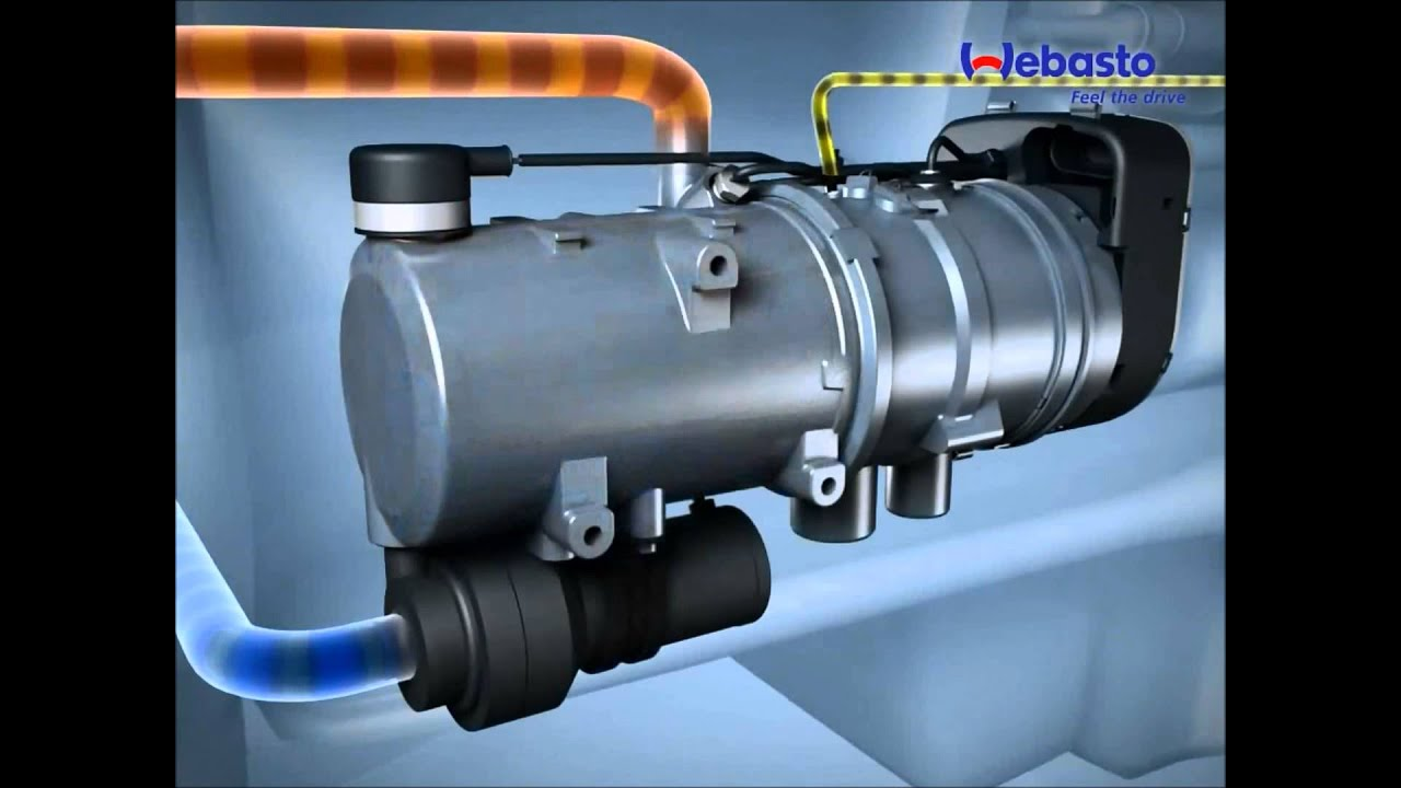 Webasto Thermo Pro 50 on
