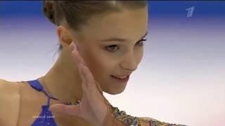 Фигурное катание Финал Гран при 2019 в Турине Женщины Произвольная программа Анны Щербаковой