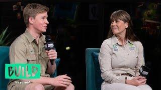 Terri Irwin & Robert Irwin Speak On Steve Irwin Day & Honoring His Legacy