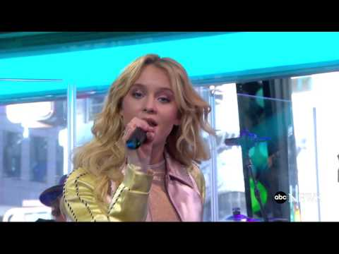 Zara Larsson - Never Forget You - Live @ GMA [HD]
