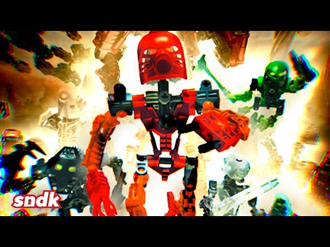 Эти игрушки спасли компанию Lego и побороли рак | Большой Разбор Bionicle | Sndk