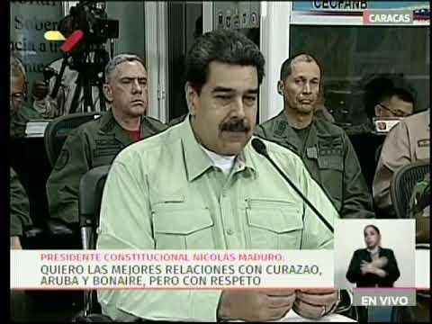 Presidente Maduro anuncia cierre de frontera terrestre con Brasil, 21 febrero 2019