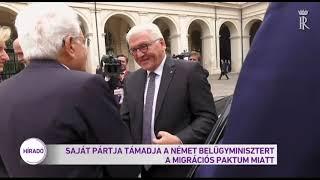 Saját pártja támadja német belügyminisztert a migrációs paktum miatt