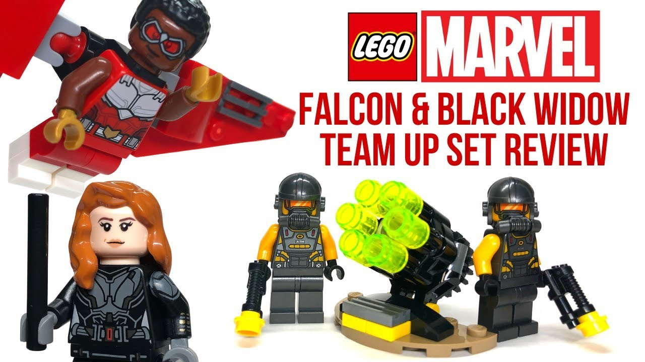 40418 Falcon und Black Widow Battle Pack Neu /& OVP LEGO Marvel Superheroes