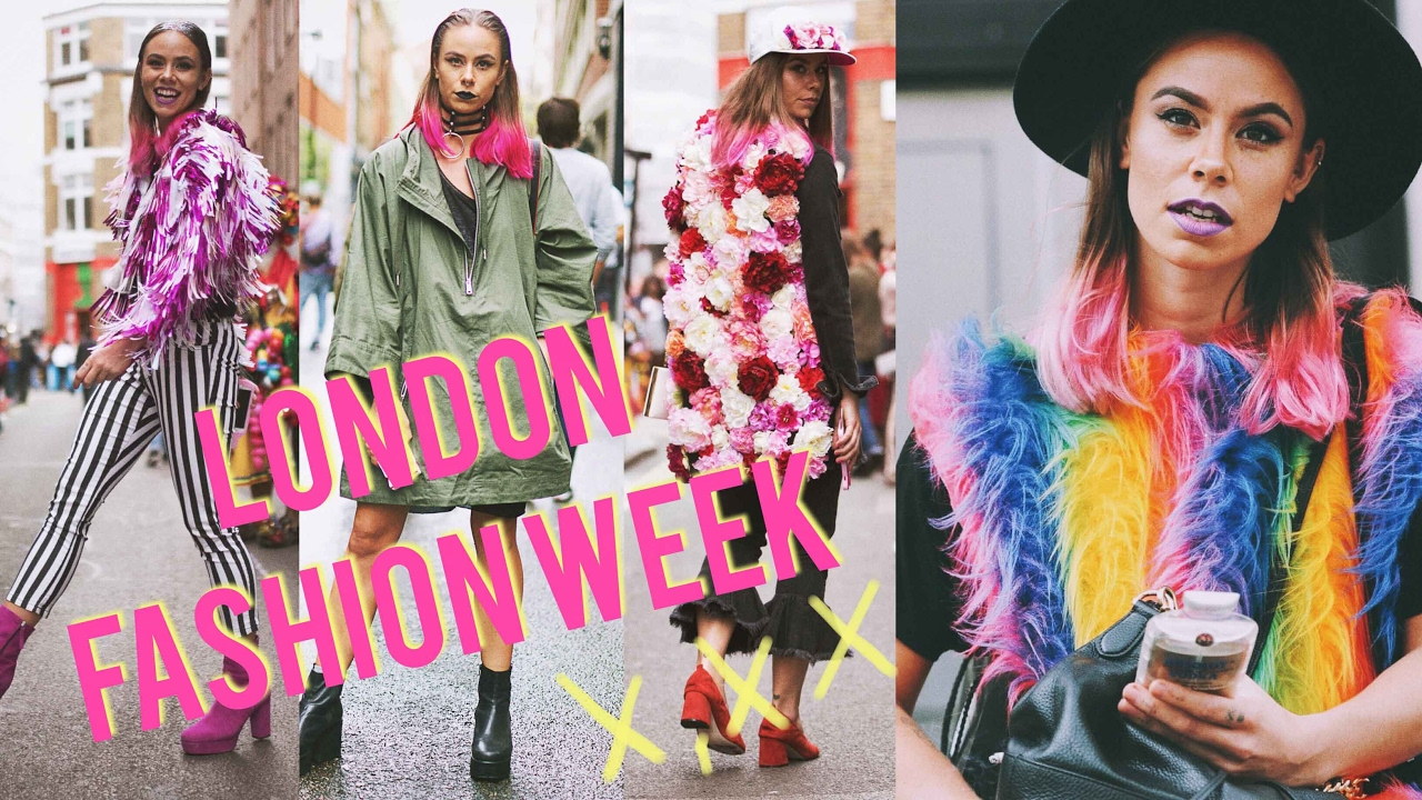 19 London Fashion Week Ss17 Street Style Nib Youtube