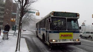 Norwood bound OBI Orion V #6116 on the Bx30 at Co-Op City Blvd & Carver Loop