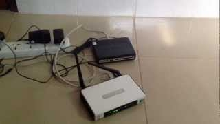 how to connect a dsl modem a tp link router for wireless