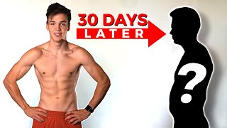 My Brother Transformed His Body In 90 Days, This Is Him 30 Days Later.