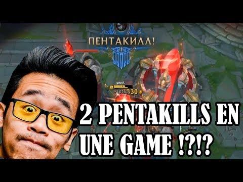 2 PENTAKILLS EN UNE SEULE GAME !? - LRB En Russie