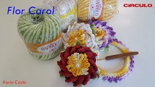 Baixar Flor Carol / Diy / By Karin Costa