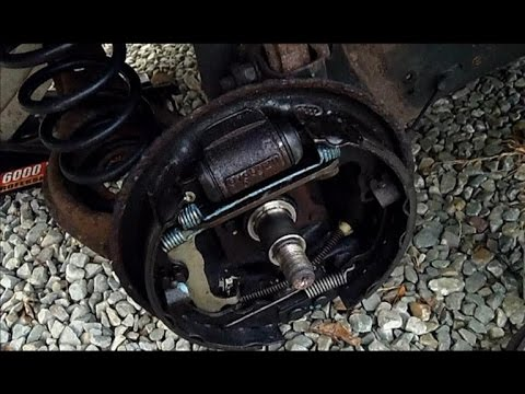 2003 Ford Focus Rear Brake Drum Backing Plate replacement - YouTubeYouTube