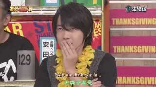 "[vietsub] Kamiki Ryunosuke in show ""All star thanksgiving special 2010"""