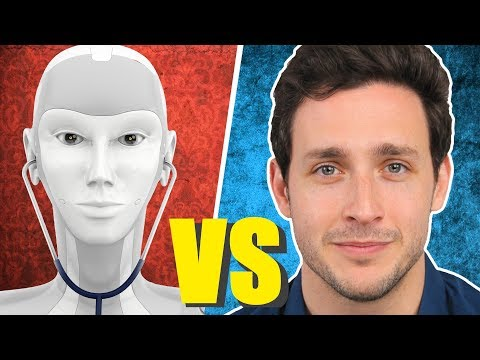 """ROBOT"" Doctor Delivers Bad News 