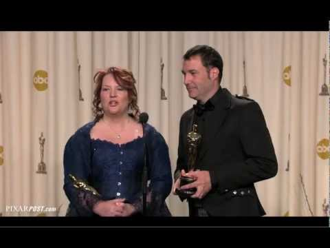 Brave's Academy Award (Oscar) press room Q&A session with Mark Andrews and Brenda Chapman.mov Mp3