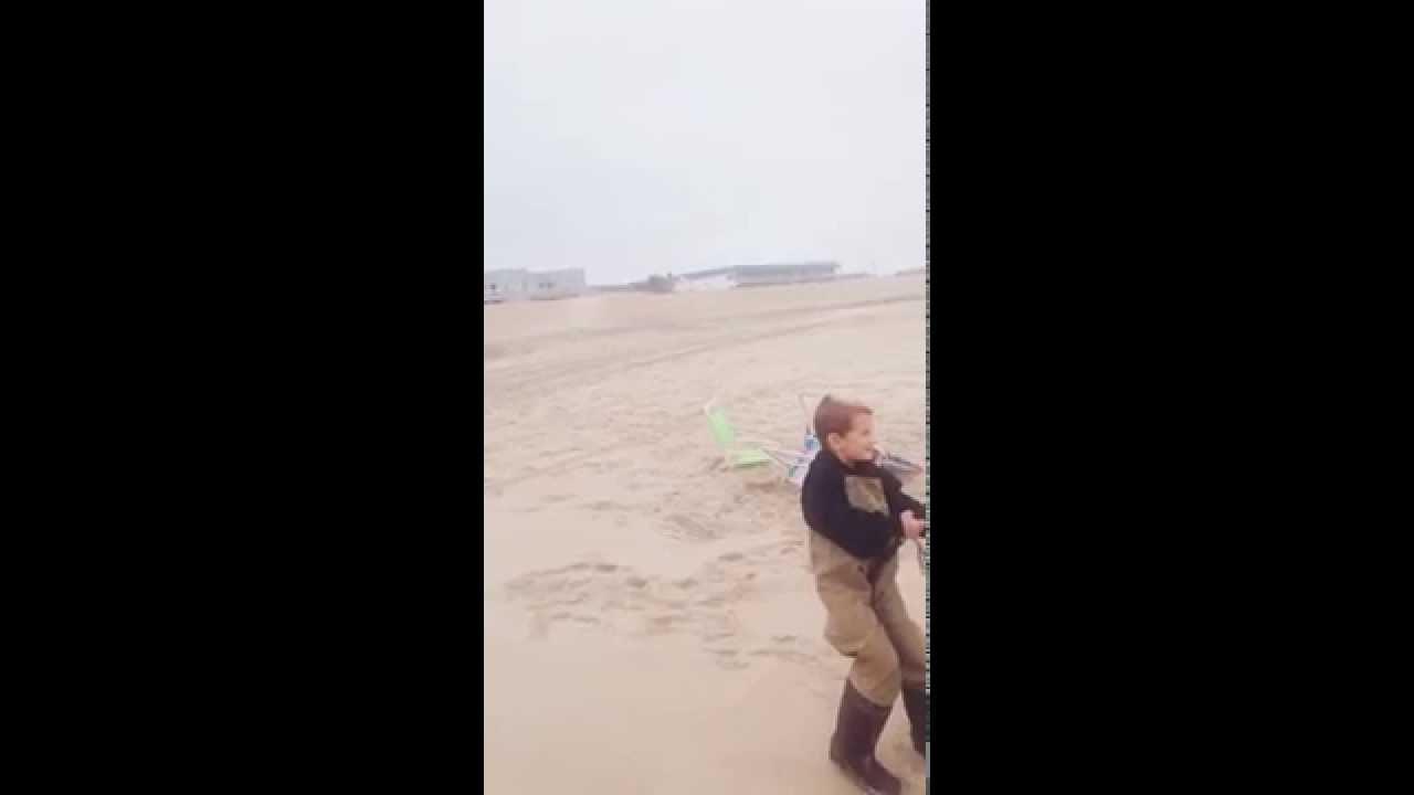 Lbi striper fishing sam adams 6 years old youtube for Lbi surf fishing report